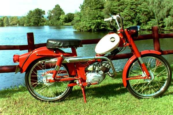65 Harley Davidson M50